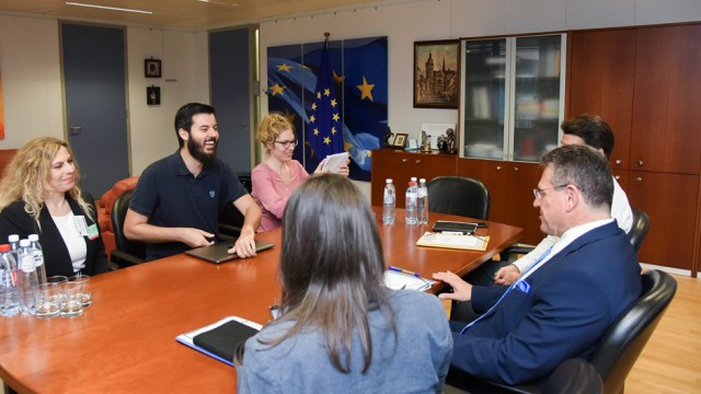 Meeting with European Commission VP Maros Sefcovic