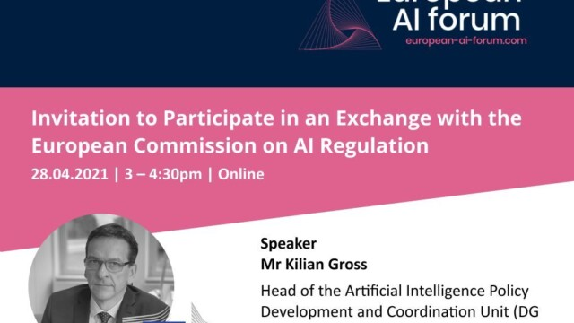 Hearing with the European Commission on the proposed AI Act