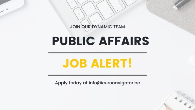 Looking for a seasoned public affairs professional